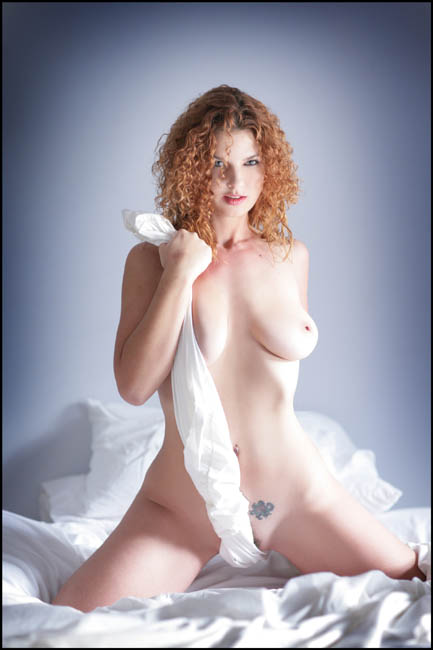 Naked and with big boobies