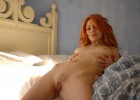 Naked redhead with hot pussy