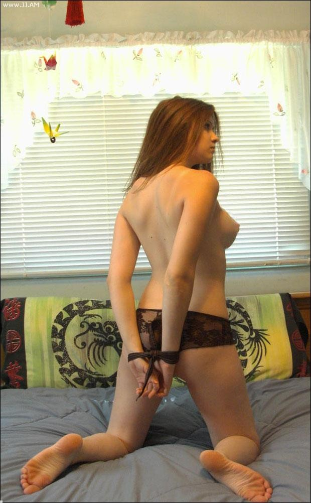 Amateur naughty girlfriend bondage experience