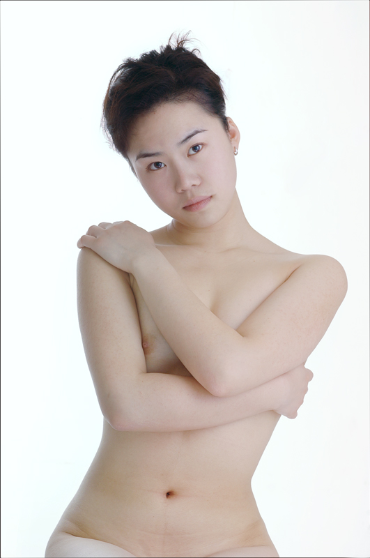 Possible Asian short hair naked impossible the
