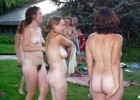 Welcome girls to the nudist camp