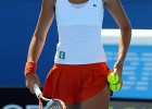 Hot tennis player girl with gorgeous body