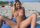 Hot wife spreading her legs and shows her juicy cunt